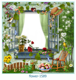 flower Photo frame 1589