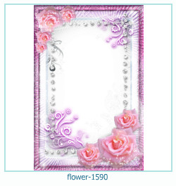 flower Photo frame 1590