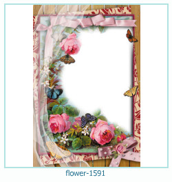 flower Photo frame 1591