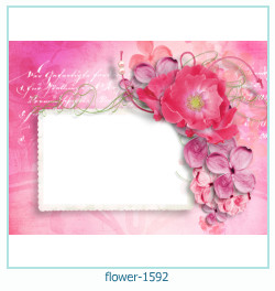 flower Photo frame 1592