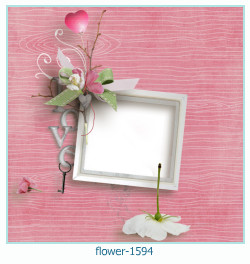 flower Photo frame 1594