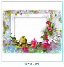 flower Photo frame 1595