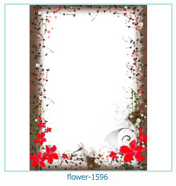 flower Photo frame 1596