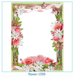 flower Photo frame 1599