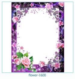 fleur Cadre photo 1600