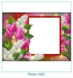 flower Photo frame 1602