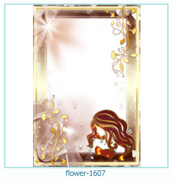 Marco de la foto de la flor 1607