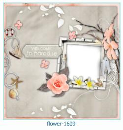 Blume Fotorahmen 1609