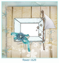 flower Photo frame 1629