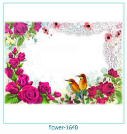 flower Photo frame 1640