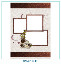 फूल फोटो फ्रेम 1645
