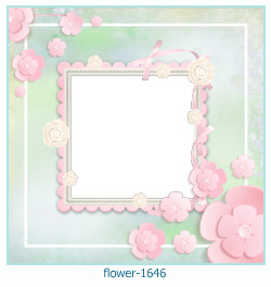 flower Photo frame 1646