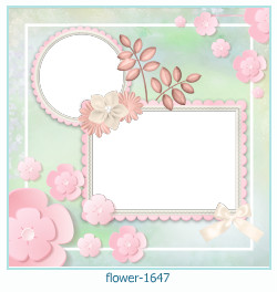 flower Photo frame 1647