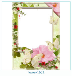 flower Photo frame 1652