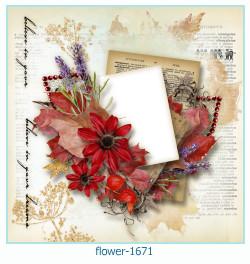 फूल फोटो फ्रेम 1671