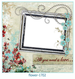 flower Photo frame 1702