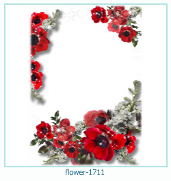 virág képkeret 1711