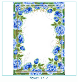 Marco de la foto de la flor 1712