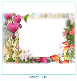virág képkeret 1718