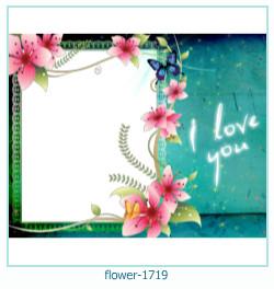 virág képkeret 1719