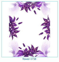 flower Photo frame 1738