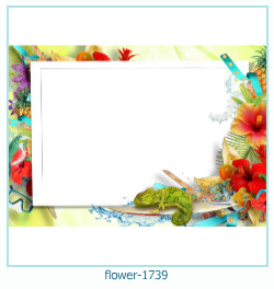 flower Photo frame 1739