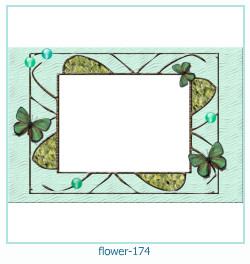 flower Photo frame 174