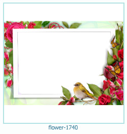 flower Photo frame 1740