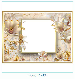 flower Photo frame 1743