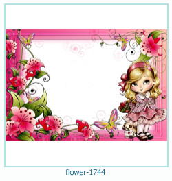 flower Photo frame 1744
