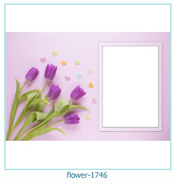 flower Photo frame 1746
