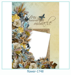 flower Photo frame 1748