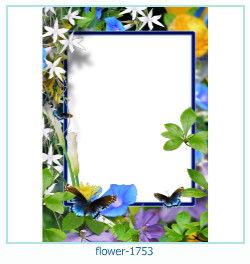flower Photo frame 1753