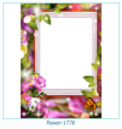 flower Photo frame 1778