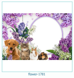 flower Photo frame 1781