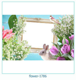 flower Photo frame 1786