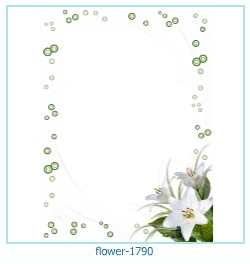 flower Photo frame 1790