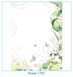flower Photo frame 1793