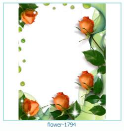 Marco de la foto de la flor 1794