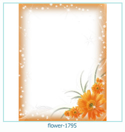 Marco de la foto de la flor 1795