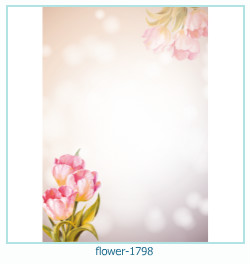 flower Photo frame 1798