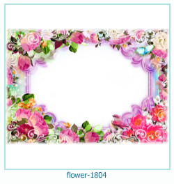 Marco de la foto de la flor 1804