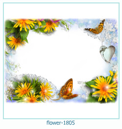 Marco de la foto de la flor 1805