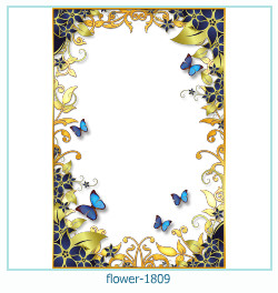 flower Photo frame 1809
