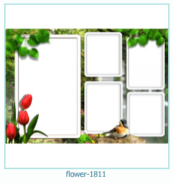 flower Photo frame 1811