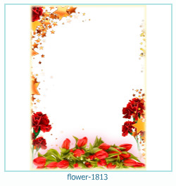 flower Photo frame 1813