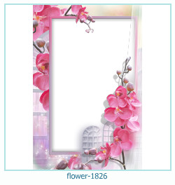 flower Photo frame 1826