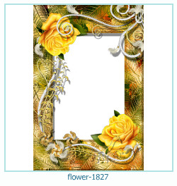 flower Photo frame 1827