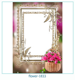 flower Photo frame 1833