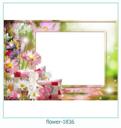 flower Photo frame 1836